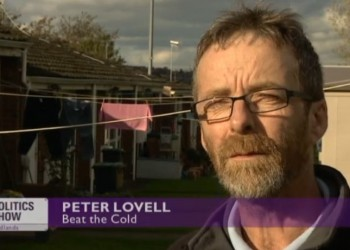Peter Lovell on the BBC's Politics Show